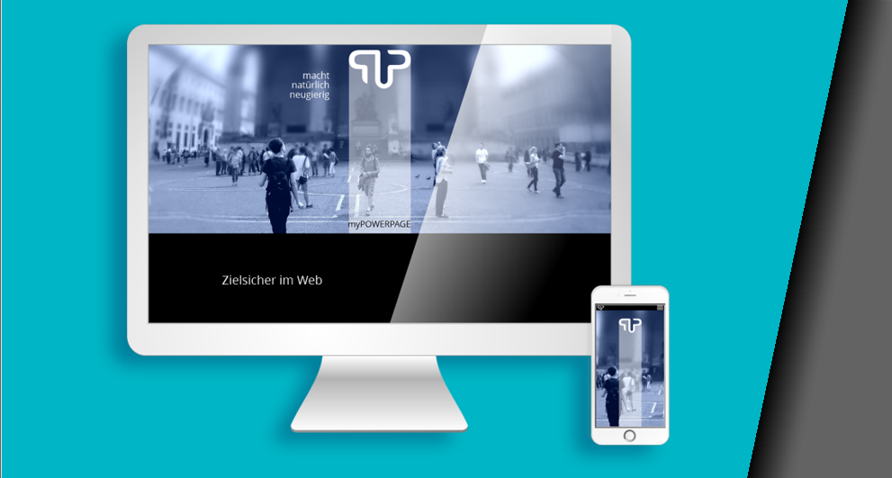 Mockup Corporate Design - Homepage von HAAG Kommunikationsdesign | Webdesign München